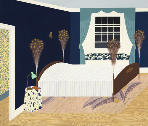 2019 03 24 becky suss bedroom with peacock feathers installed 500 138x122x1154x978 q85